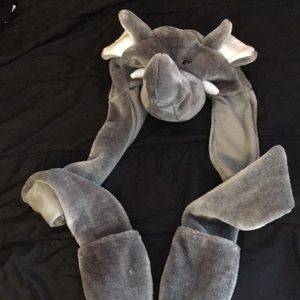 Other - Elephant hat with gloves